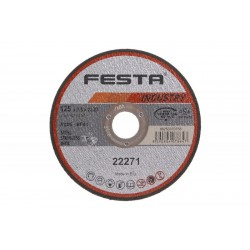 Kot. řezný kov 125x2. 5x22. 2 FESTA INDUS(D