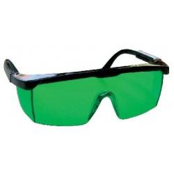Laserové zjasňující brýle zelené (D)