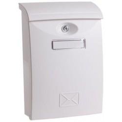 Poštovní schránka PVC bílá 24x10. 5x34. 5cm