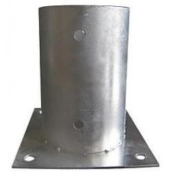 Patka sloupku 80x150mm ZN (D)