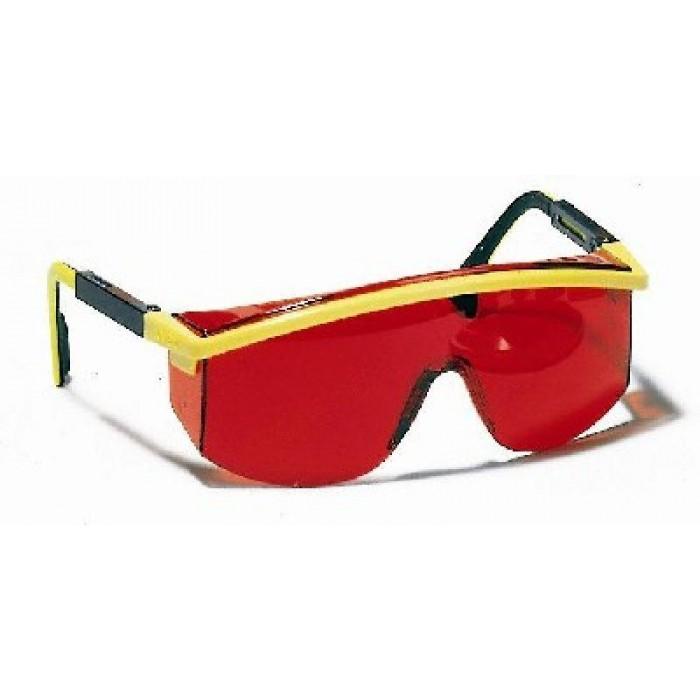 Laserové zjasňující brýle červené