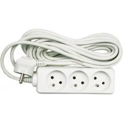 Prodluž.kabel 3zásuvky,7m,max.3680W