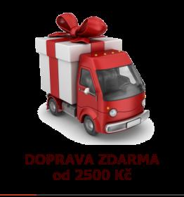 Doprava zdarma od 2500 Kč